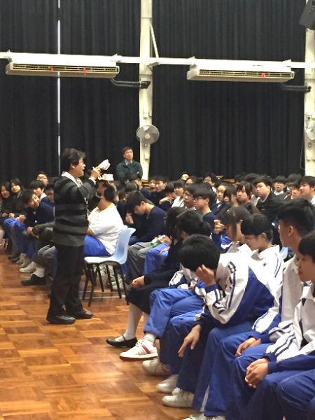 Oral Health Talk to Secondary School Students